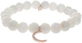 Sydney Evan Moon Charm Bracelet