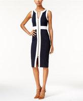 MICHAEL Michael Kors Colorblocked Zip-Front Dress
