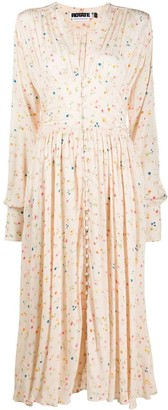 Rotate by Birger Christensen Tracy floral-print midi dress