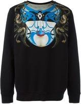 Marcelo Burlon County of Milan mask print sweatshirt