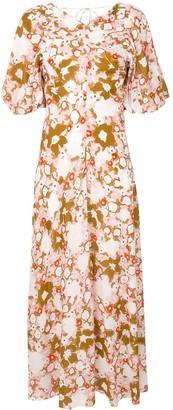 Lee Mathews Nula Montel floral-print dress