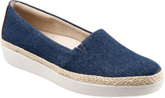 Trotters Espadrille-Style Casual Slip-Ons - Accent