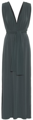 Max Mara Leisure Nerone crepe maxi dress