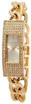 So&Co Women's Madison Crystal Accented Bracelet Watch