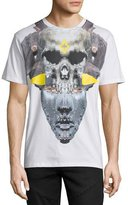 Marcelo Burlon County of Milan Skull/Mask Graphic T-Shirt, White