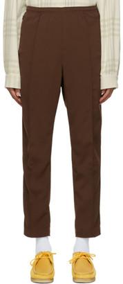 Needles Brown Doeskin Warm-Up Track Pants