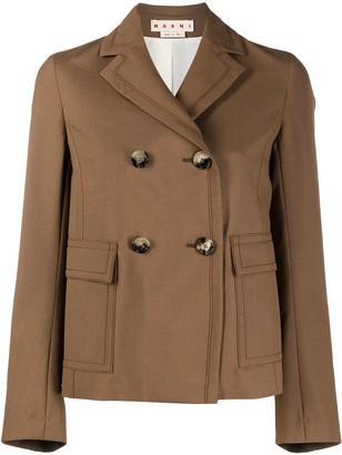 Marni Double-Breasted Short Coat