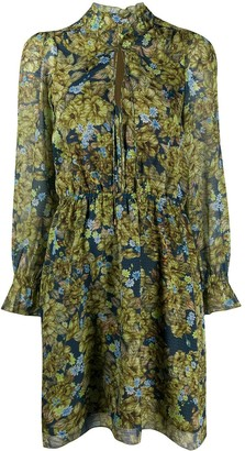 Patrizia Pepe Floral Shirt Dress