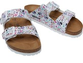 Birkenstock Junior Girls Arizona Birko-Flor Regular Fit Sandals Lovely Minnie White