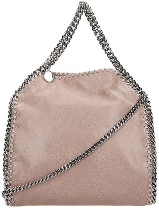 Stella McCartney Falabella Shoulder Bag In Brown Faux Leather
