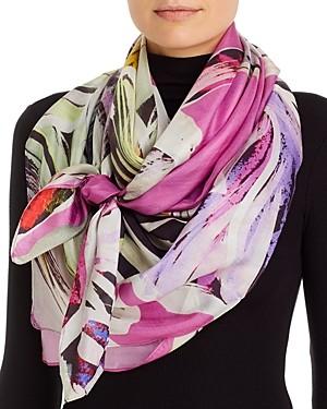 Fraas Floral Explosion Silk Scarf