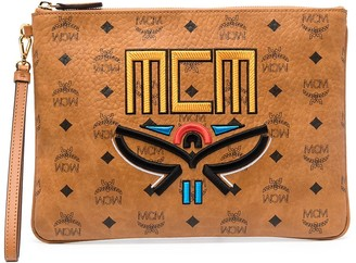 MCM Geo Laurel zip pouch