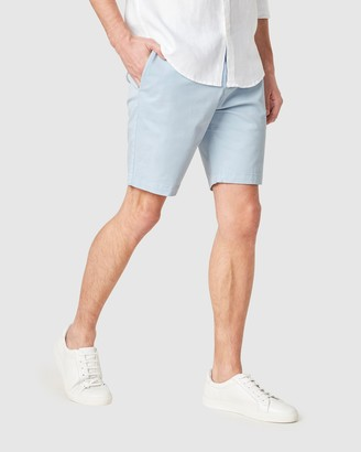 French Connection Men's Shorts - Slim Fit Stretch Chino Shorts - Size One Size, 30 at The Iconic