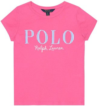 Polo Ralph Lauren Logo-embroidered cotton T-shirt