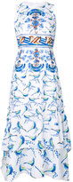 Peter Pilotto printed dress - women - Cotton/Spandex/Elastane - 8