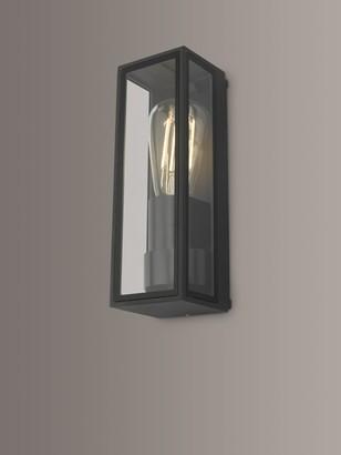Dar Taryn Outdoor Wall Light, Anthracite