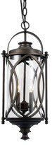 Bungalow Rose Ginsburg 2-Light Outdoor Hanging Lantern