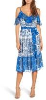 Eliza J Petite Women's Cold Shoulder Dress