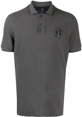 Brunello Cucinelli Short Sleeved Polo Shirt