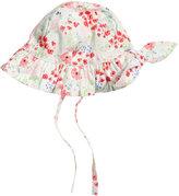 H&M Sun Hat - White/floral - Kids