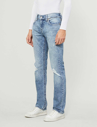 True Religion Ricky No Flap straight-leg jeans