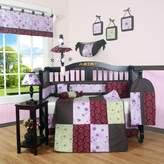 GEENNY Baby GEENNY Boutique Crib Bedding Set, Love Circle, 13 Piece