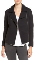 Amour Vert Women's 'Kala' Asymmetrical Stretch Ponte Jacket