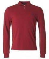 Polo Ralph Lauren Long Sleeved Custom Fit Mesh Polo