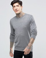 Scotch & Soda Jumper With Crew Neck Cotton In Grey