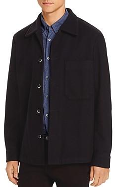 Barena Cedrone Regular Fit Fleece Overshirt Jacket