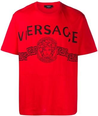 Versace Medusa logo-print T-shirt