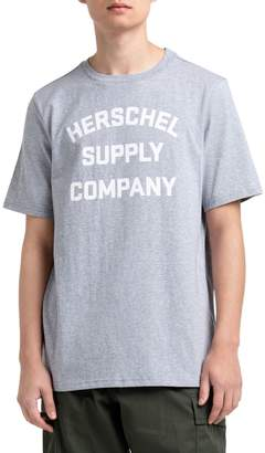 Herschel Short Sleeve Graphic Print Crew Neck Tee