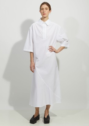 Dusan Cotton Polo Shirt Dress