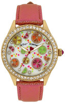 Betsey Johnson Citrus Party Watch