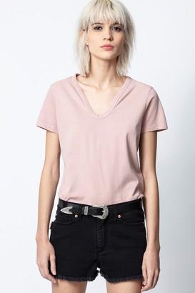 Zadig & Voltaire Atal Bis Henley T-shirt