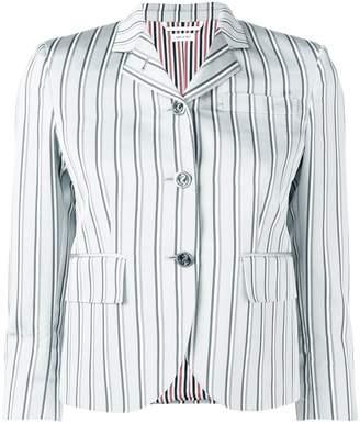Thom Browne Stripe Silk Classic Sport Coat