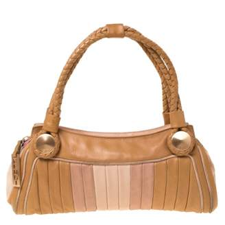 Fendi Camel Leather Handbags