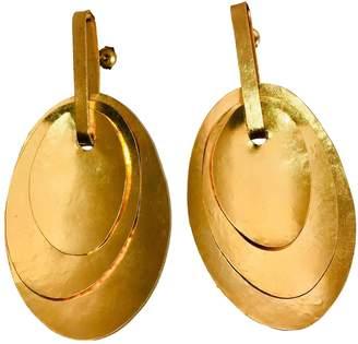 Herve Van Der Straeten \N Gold Gold plated Earrings