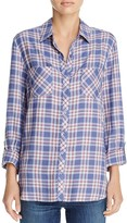 Soft Joie Lilya Plaid Shirt