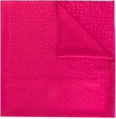 Bally tonal print scarf