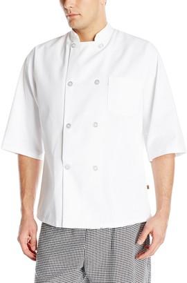 Chef Designs Red Kap Sleeve Chef Coat