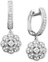 Diamond Earrings in 14k White Gold (1/3 ct. t.w.)