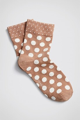 Witchery Duo Spot 1/4 Crew Sock