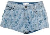 Sandro Emellished Denim Shorts