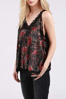 POL Velvet Swing Tank Top