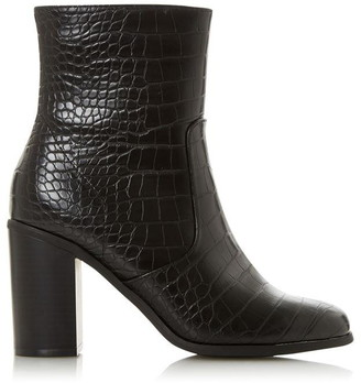 Head Over Heels Omm Stacked Block Heel Boots