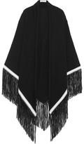 Babjades - Fringed Cashmere Wrap - Black