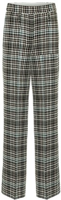 Schumacher Dorothee Charismatic Check wool-blend pants