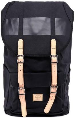 Herschel Buckled Foldover Backpack