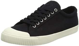 Gola Men Tiebreak Black/Off White Sneakers, Black (Black/Off White Bw Black), 41 EU